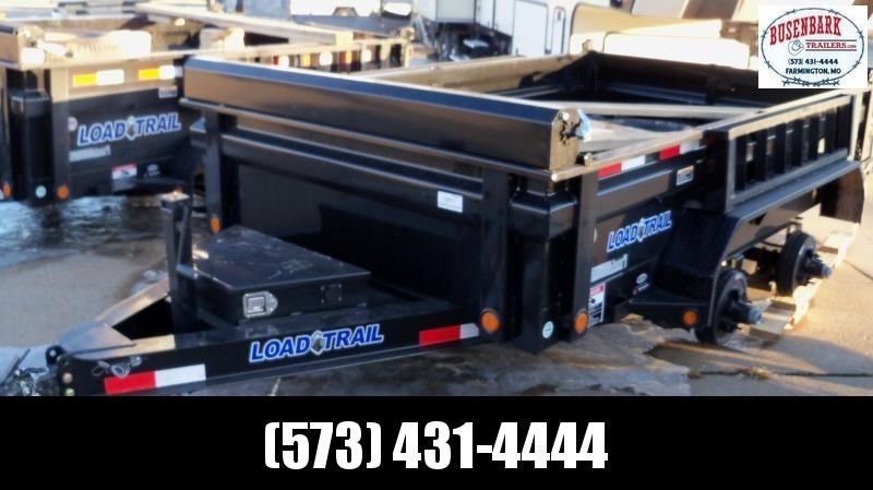 10X072 Load Trail Black Tandem Axle Dump DT7210052
