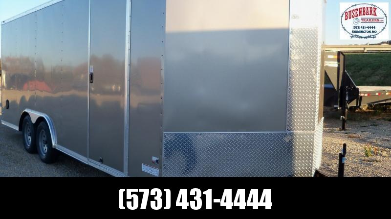 Anvil AT85X20TA2 Enclosed Cargo Trailer PEWTER