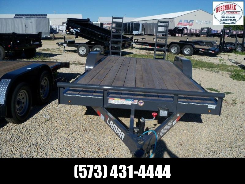 2019 Lamar Trailers CC832025 Flatbed Trailer