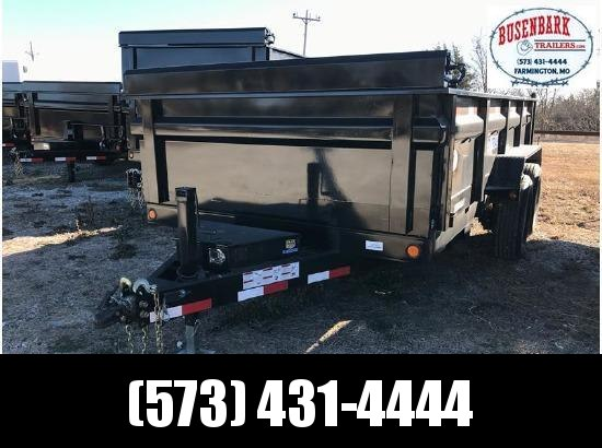 2018 LOAD TRAIL 14 ft DUMP TA SCISSOR LIFT