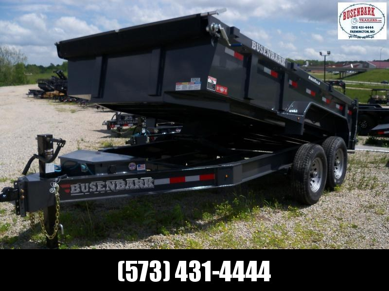 14X083 Lamar Charcoal Low Pro Dump Trailer Spreader Gate W/Slide In Ramps DL831427