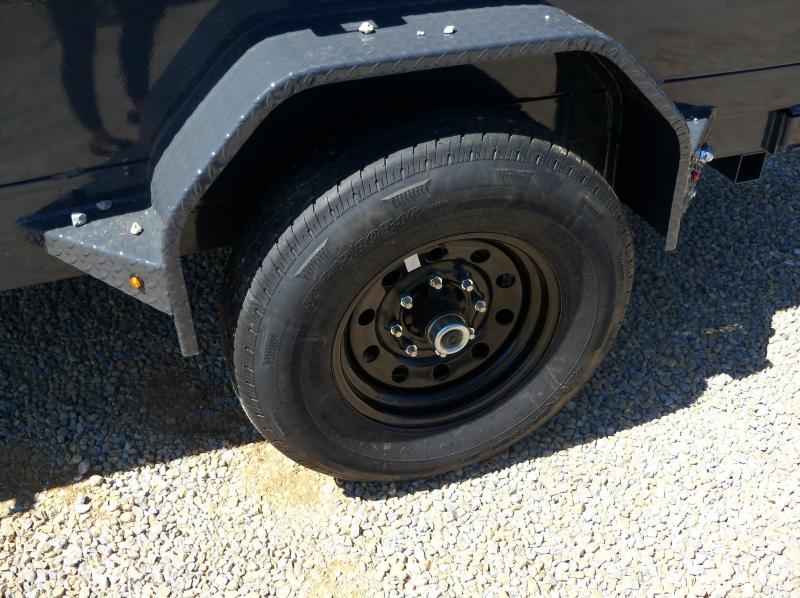 10x060 Lamar Charcoal Mini Dump Trailer 1 Axle DS601017