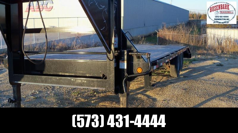 GH0225072 102″ x 25′ Tandem Heavy Duty Gooseneck