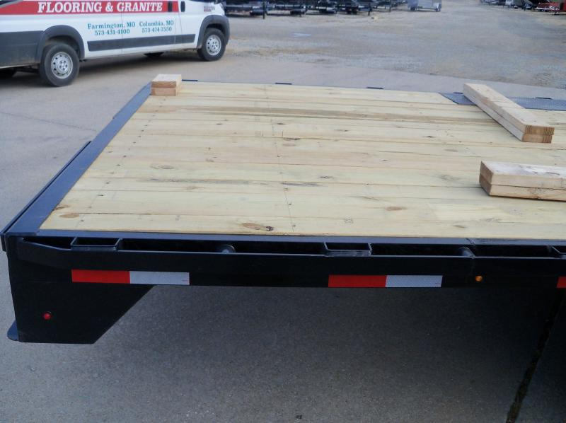 "102"" X 24' DECK-OVER 14K F8022427 BUMPER PULL"