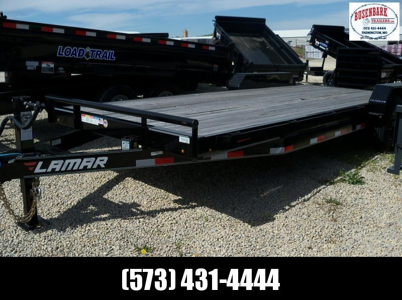 22x083 Lamar Black Equipment Hauler 4' Dove Rhino Ramps H6832227