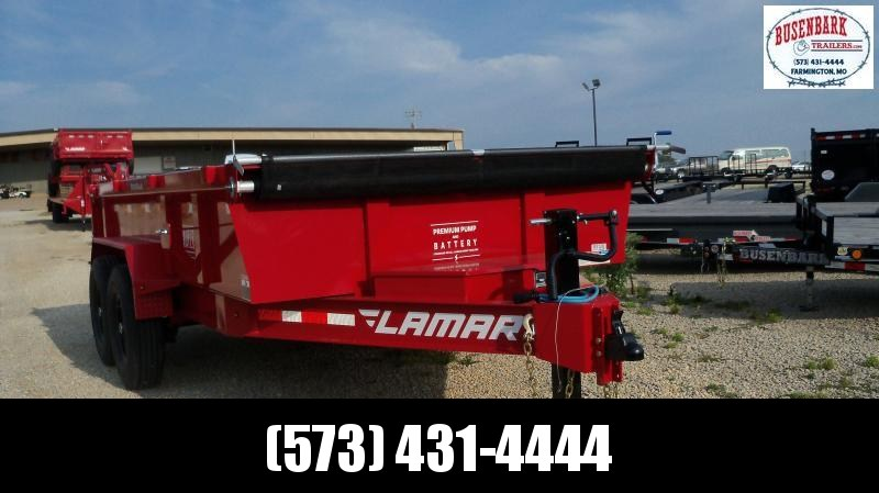"83"" X 14' LOW-PRO DUMP 14K RED 14 PLY TIRES DL831427"