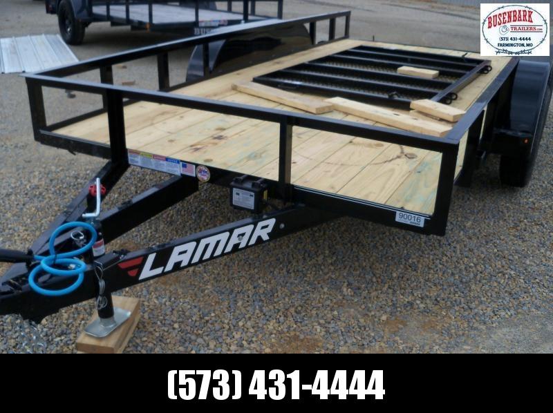 2020 Lamar Classic Utility Angle Frame 7k Trailer ut771423
