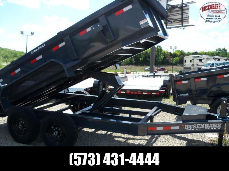 14X083 Lamar Charcoal Low-Pro Dump Spreader Gate Scissor Lift DL831427