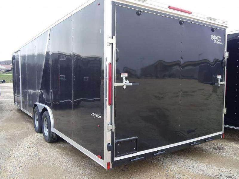 Look Trailers Vision Puresport Auto Flat Top Car / Racing Trailer PWVF85X25TE3