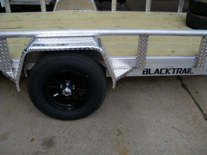 14X77 Blacktrail BRBUT1477 4' GATE SPRING LATCH Utility Trailer