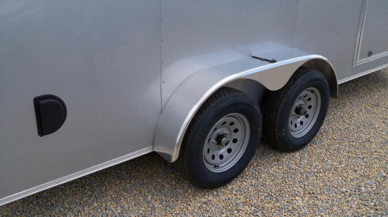 2020 Anvil AT7X18TA2 Silver Enclosed Cargo Trailer