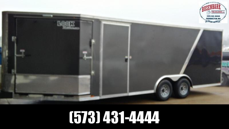 25X102 Look Puresport Auto-Snow Enclosed V-Nose Trailer PWVF85X25TE3