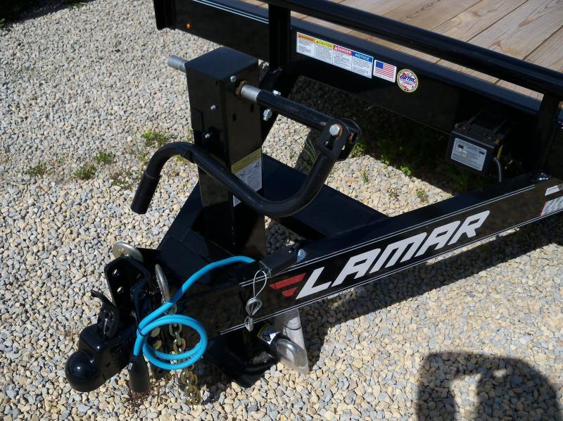 20x083 Lamar Black Equipment Hauler 2' Dove Tail H6832027