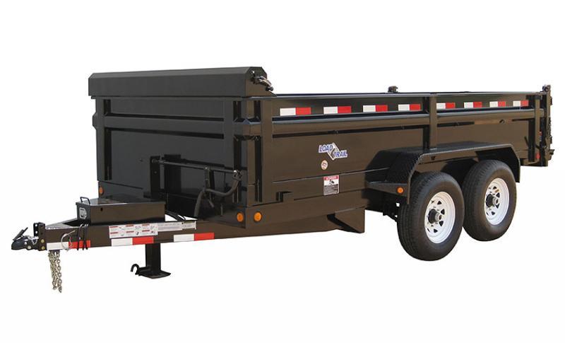 "Load Trail 72"" X 12' Tandem Axle Dump Dump Trailer"