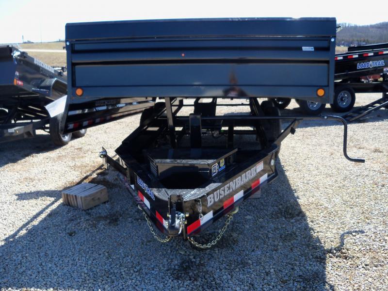 "16' x 96"" Tandem Axle Dump Pintle Hook Deck DZ9616072"