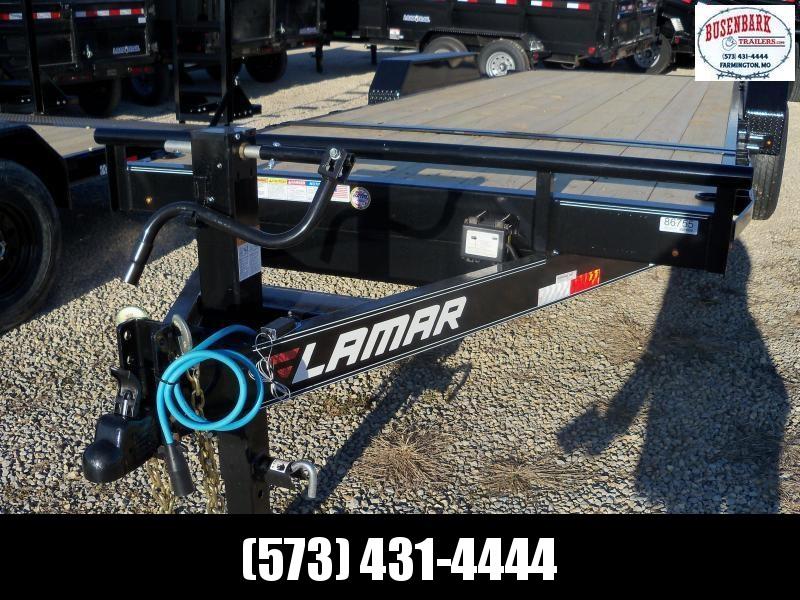 20x083 Lamar Black Tilt Deck Flat Bed Angle Top TD832027