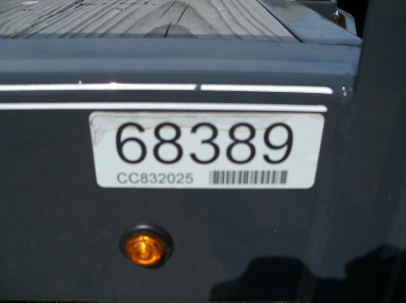 20x083 Lamar Charcoal Carhauler Teardrop Fenders CC832025