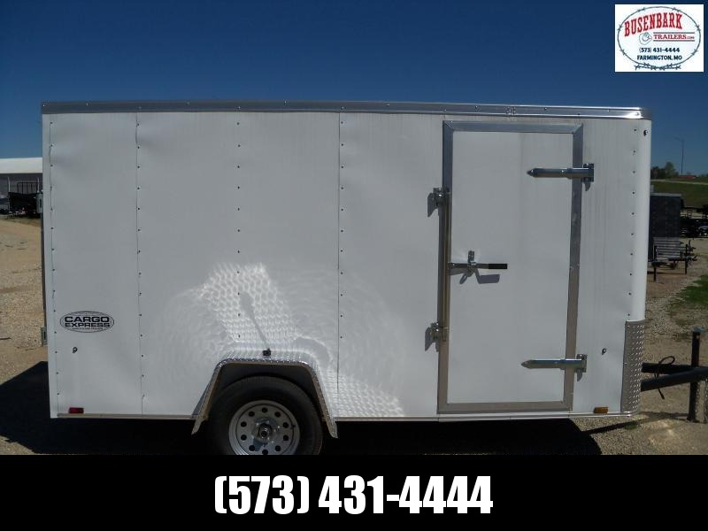 EX6X12SI2 Cargo Express Ex 6 Wide Single Cargo Cargo / Enclosed Trailer