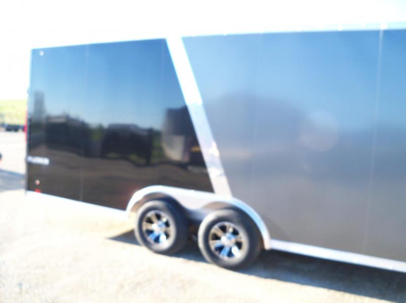 2020 ALUMINUM SNOWMOBILE PLATINUM Puresport Auto Flat Top Car / Racing Trailer APCH85X24TE3 cargo