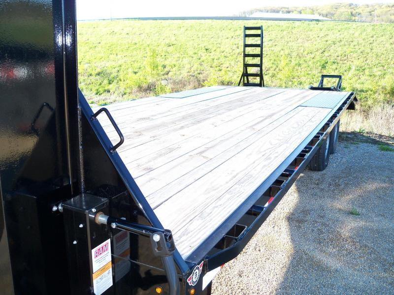"102"" X 24' DECK-OVER 14K F8022427 4' BLK 4'DT W/SU RAMPS"