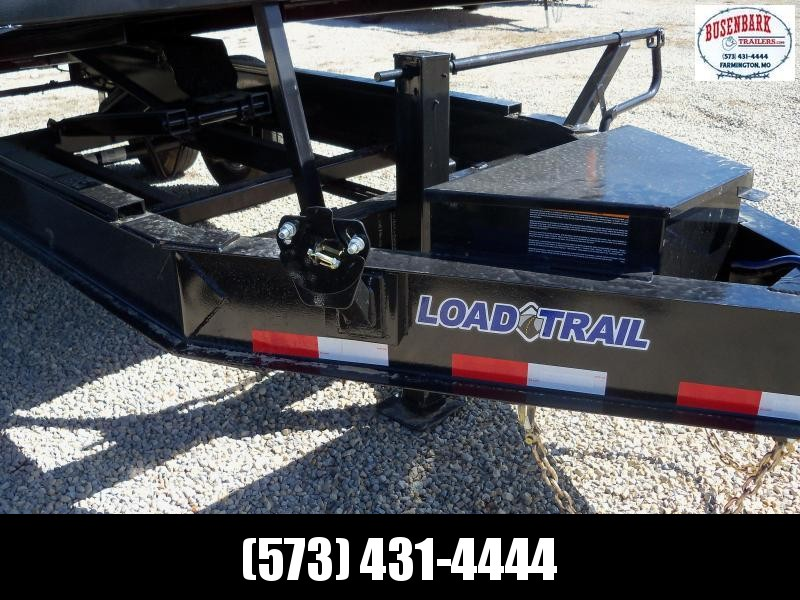 "14' x 96"" Tandem Axle Dump Pintle Hook Over Deck DZ9616072"