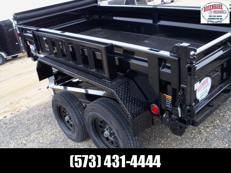 "10X060 Load Trail Black Tandem Axle Dump Trailer 18"" Sides DT6010032"