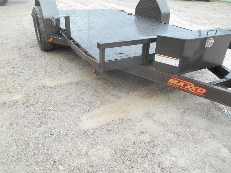 2019 Maxxd Trailers 4 Single Axle Gravity Quick Tilt Utility Trailer