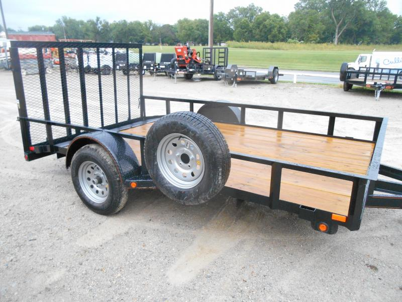 2019 Maxxd Trailers Angle Single Axle Utility Trailer