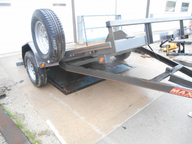 2019 Maxxd 4 Single Axle Gravity Quick Tilt Trailer