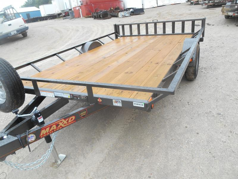 2019 Maxxd Trailers Single Axle ATV Hauler ATV Trailer