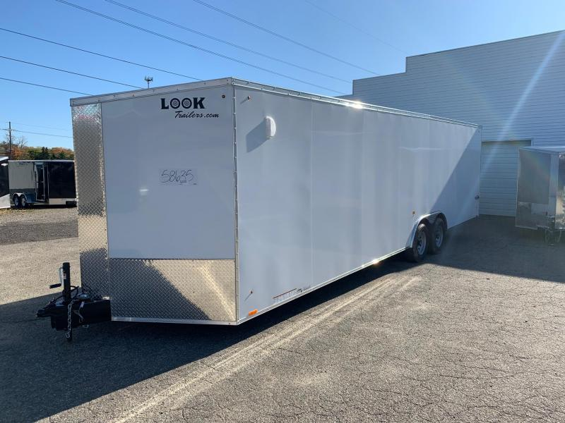 8x28 LOOK Element - 10,000lb Enclosed Car Hauler