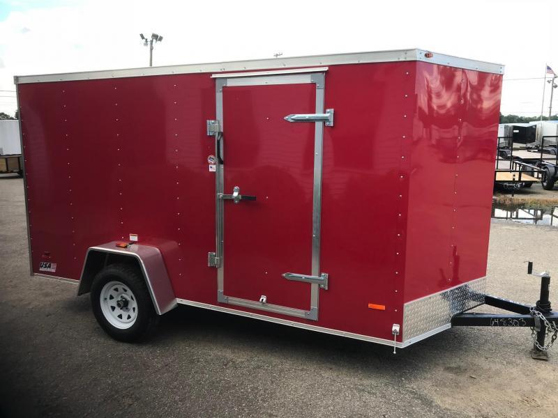 Enclosed Trailer 6X12