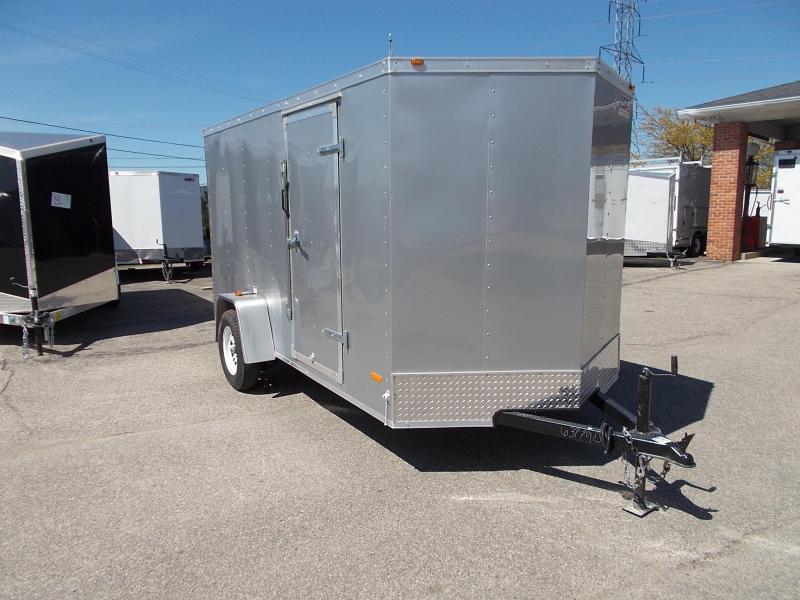6x12 USA Model w/ Ramp Door