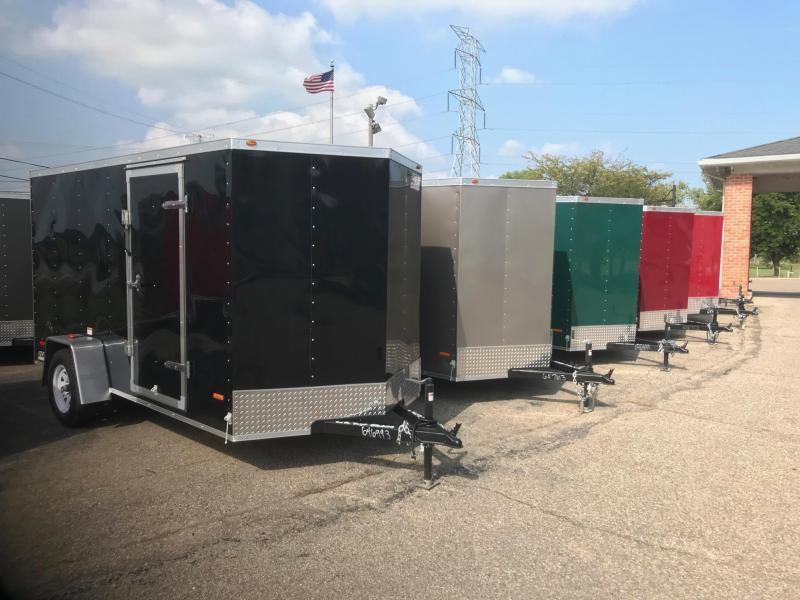 6x12 USA Model w/ Ramp Door