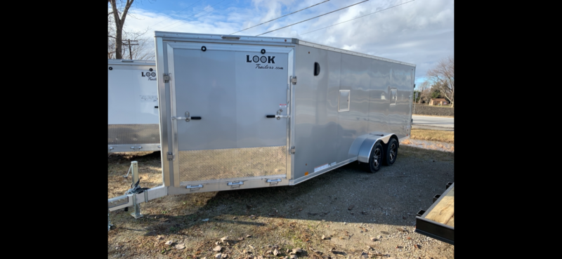 "7x23 LOOK 3-Place Snow Trailer - 6"" Extra Interior Height - Loaded Avalanche Package"