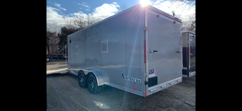 """7x23 LOOK 3-Place Snow Trailer - 6"""" Extra Interior Height - Loaded Avalanche Package"""