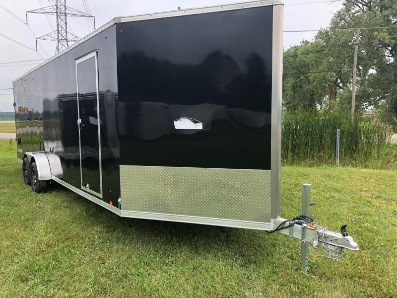 """7x29ft 5-place Snow Trailer - 6'6"""" Inside Height - Loaded Snow Package - All Aluminum - All 16"""" on Center"""