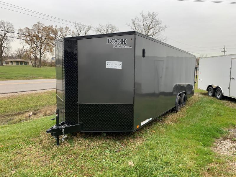 8x24 LOOK Element *Blackout Package* - 10,000lb Enclosed Car Hauler