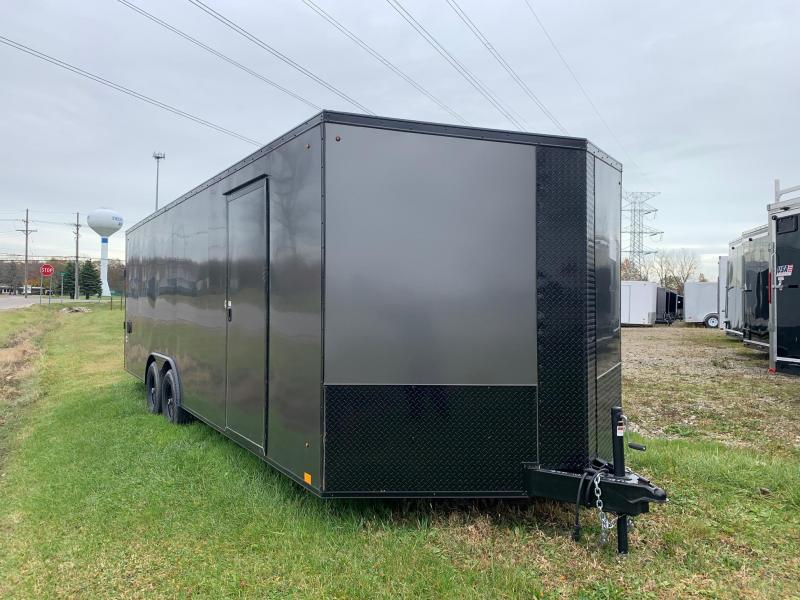 8x24 LOOK Element *Blackout Package* - 10,000lb Enclosed Car Hauler