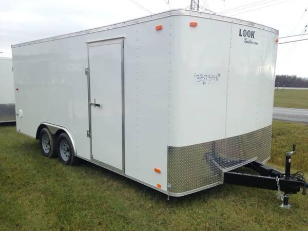 8.5x18 LOOK Enclosed Car Hauler Trailer