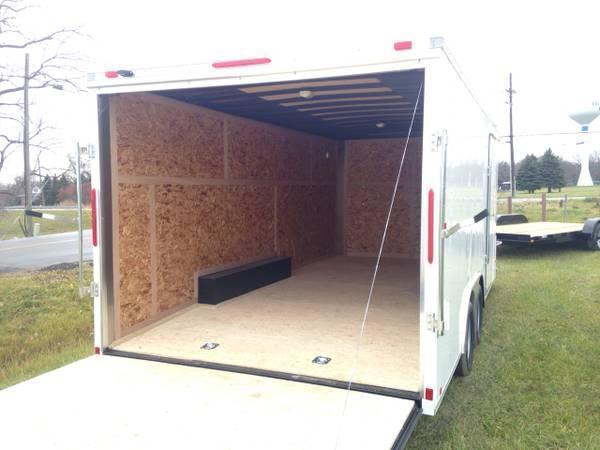 8.5x18 LOOK Enclosed Car Hauler Trailer