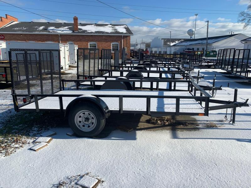 6.4 x 12 A.M.O. Low Side Landscape Trailer
