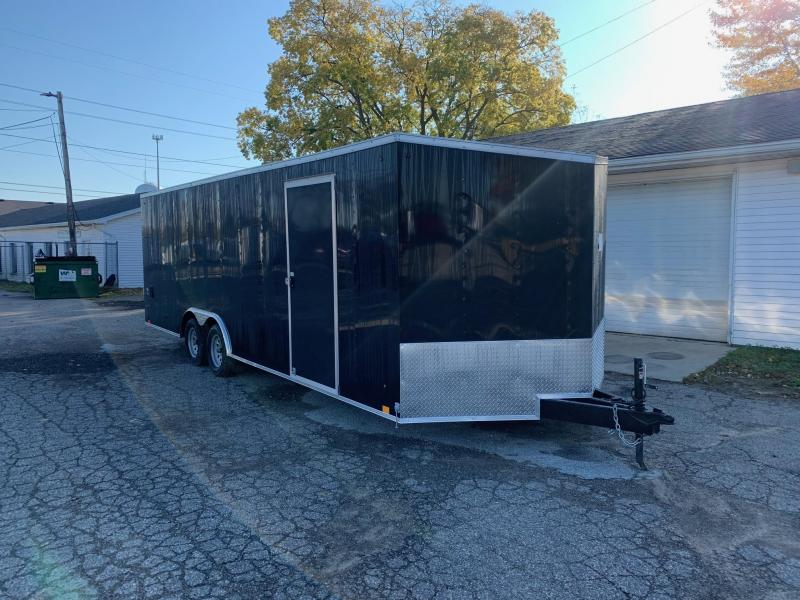 2020 LOOK DLX 24ft Enclosed Car Hauler 7K