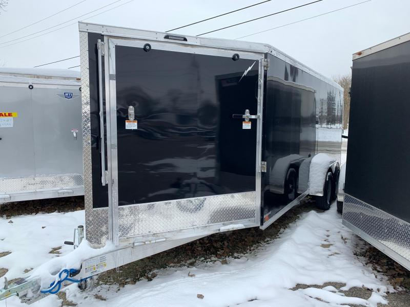 7x23ft 3-place Snow Trailer -- All Aluminum