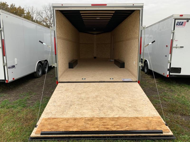 8x24 LOOK Element - 7' Interior - 10,000lb Enclosed Car Hauler