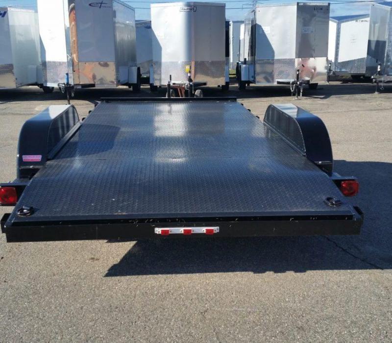 20ft Steel Deck Car Hauler w/ 2 Axle Brake