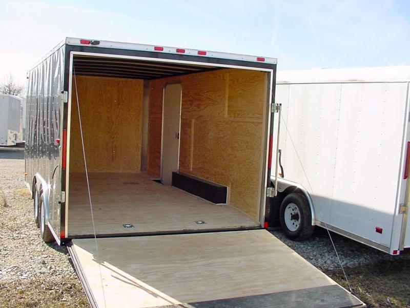8x18 LOOK Enclosed Car Hauler Trailer