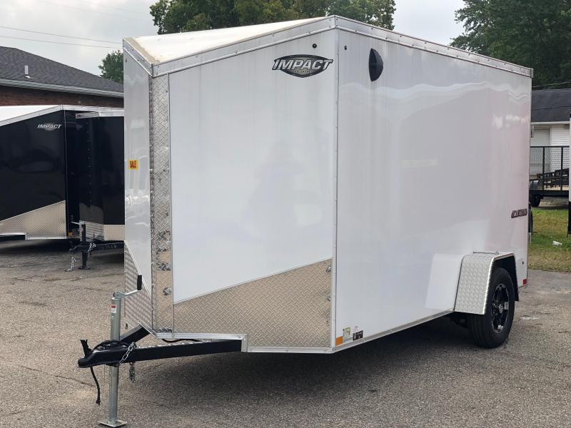 2019 Impact Trailers Tremor Enclosed Cargo Trailer w/ Extra 6 in of height
