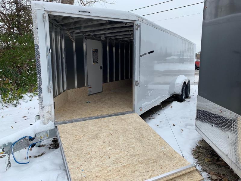 7x27ft 4-place Snow Trailer -- All Aluminum