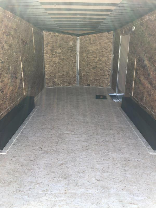 2021 Formula Trailers 8.5 x 18 traverse Enclosed Cargo Trailer